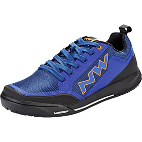 Northwave Clan Shoes Herre blue/orange
